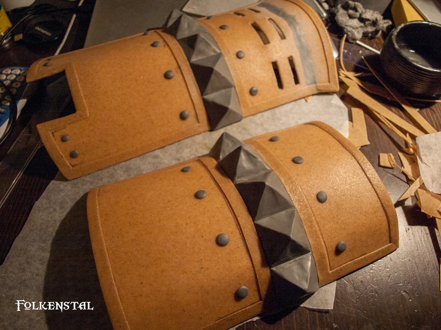 Skyrim Iron Armor (leg protection) - WIP by Folkenstal on