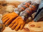 Skyrim Iron Gauntlets (with gloves)