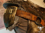 Skyrim Banded Iron Armor - right pauldron