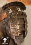 Skyrim Banded Iron Armor - pauldron left