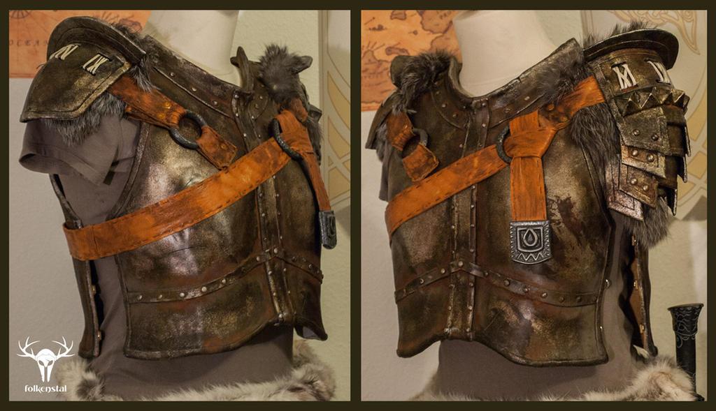 Skyrim Banded Iron Armor - final