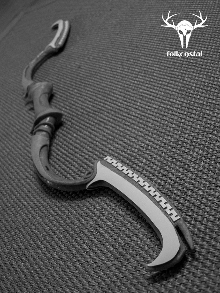 Skyrim - Dwarven Black Bow of Fate (WIP) by Folkenstal