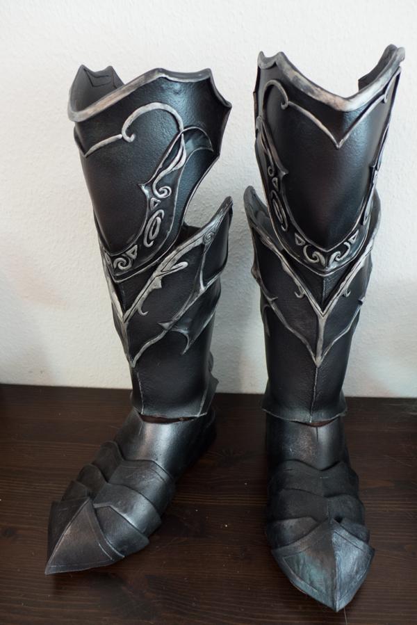 Skyrim Ebony Boots by Folkenstal
