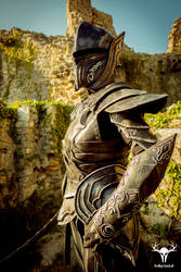 Skyrim Ebony Armor - cosplay photo No. 3