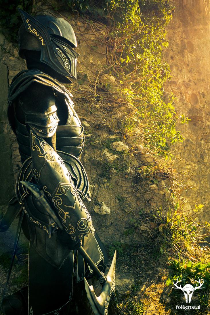Skyrim Ebony Armor - cosplay photo No. 5 by Folkenstal