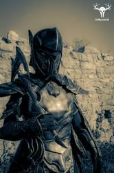 Skyrim Ebony Armor - cosplay photo No. 6