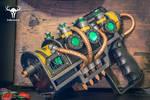 Plasma Pistol Replica - Fallout 4 (3/4 angle)