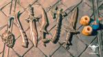 Skyrim jewelry - Skyrim Miniatures