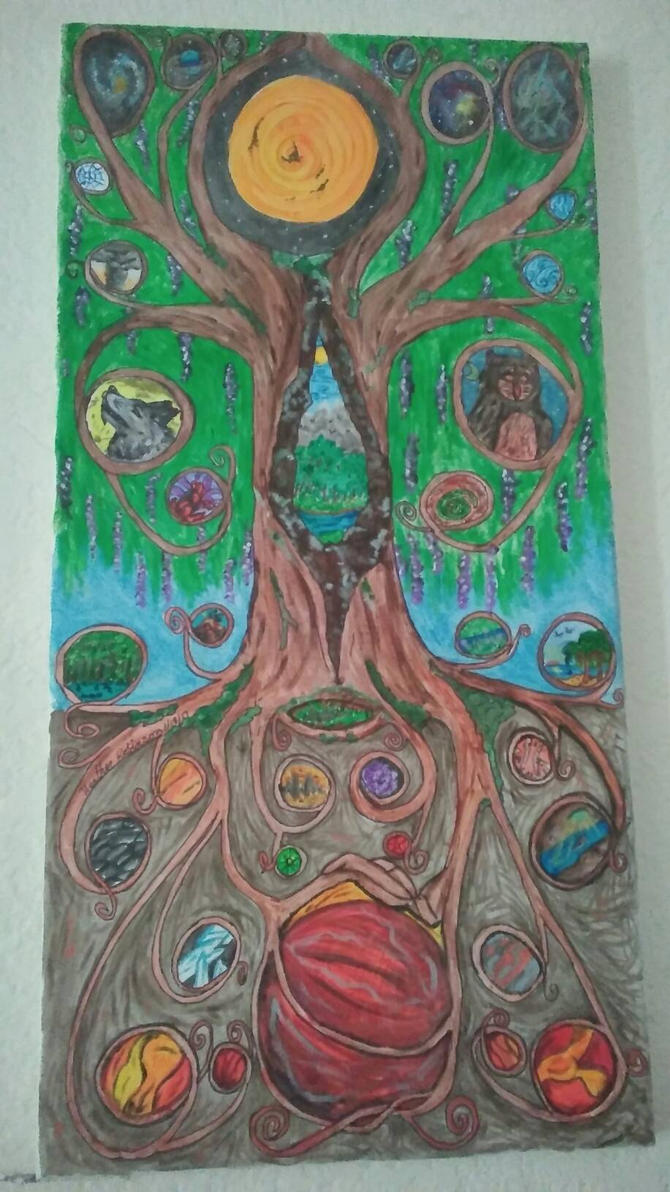 Tree of Worlds by Whitewolfsage