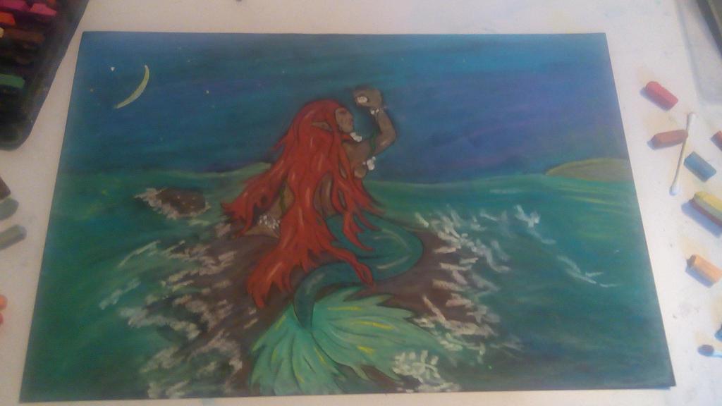 Mermaid by Whitewolfsage