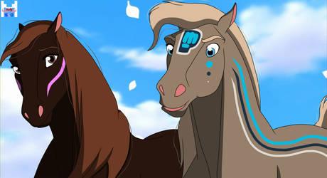 [Youtubers horse version] Felix x Marzia
