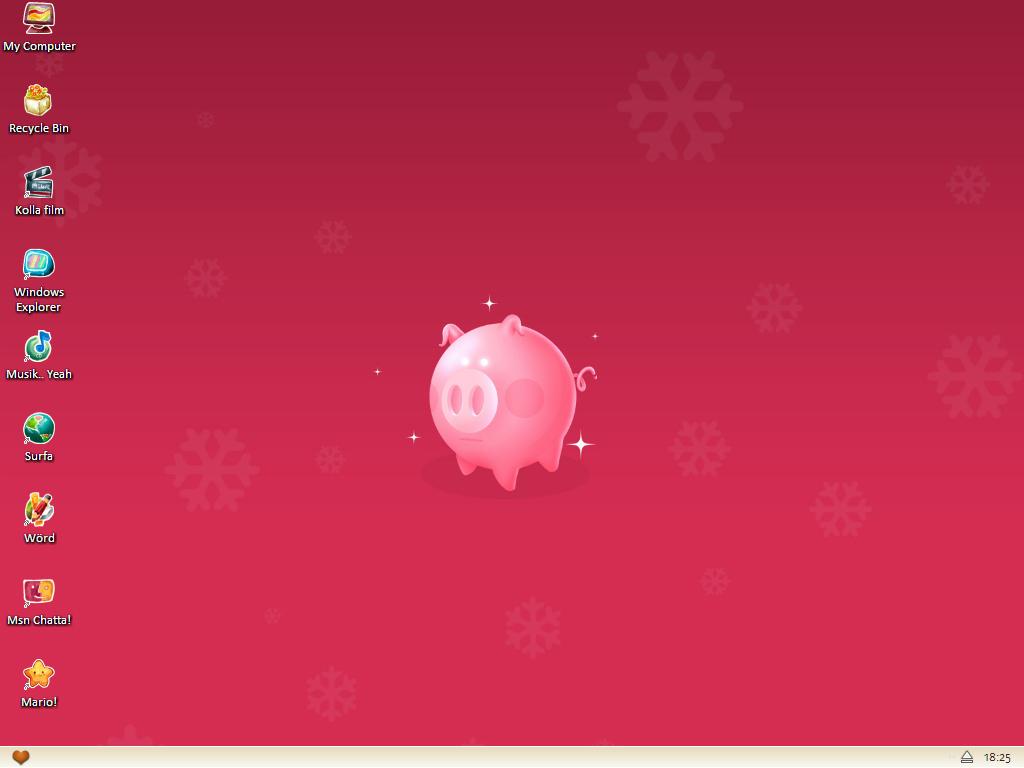 Cute Desktop 01 by ahlberg