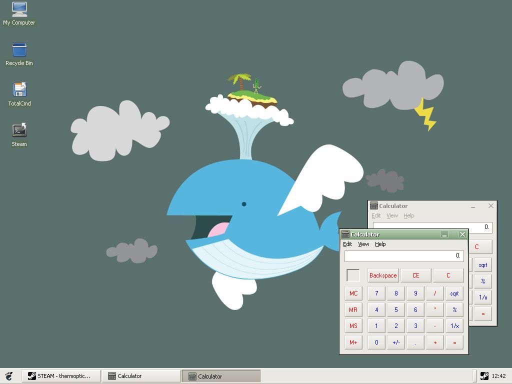 Cute Desktop 02 by ahlberg