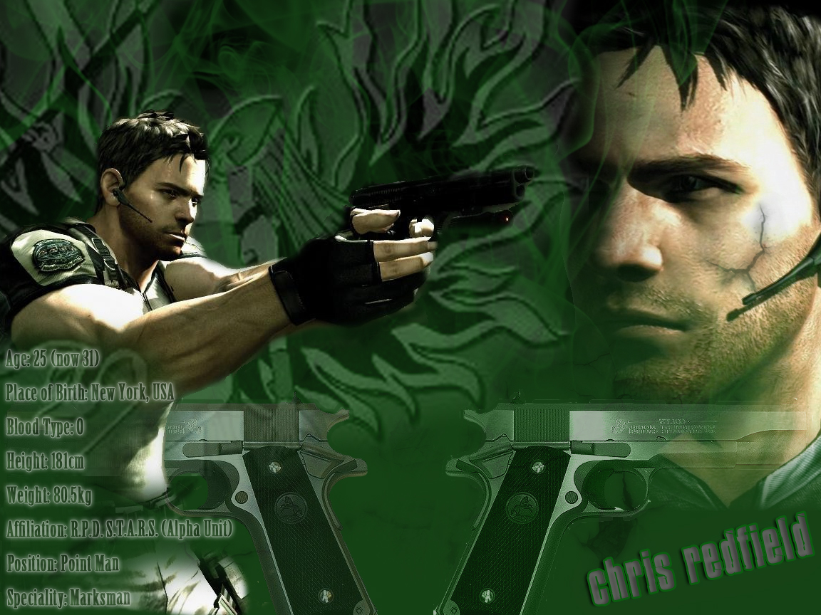 Chris_Redfield_by_BeautifullyRed
