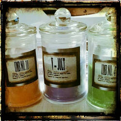 scented candles J volt series  by BeautifullyRed
