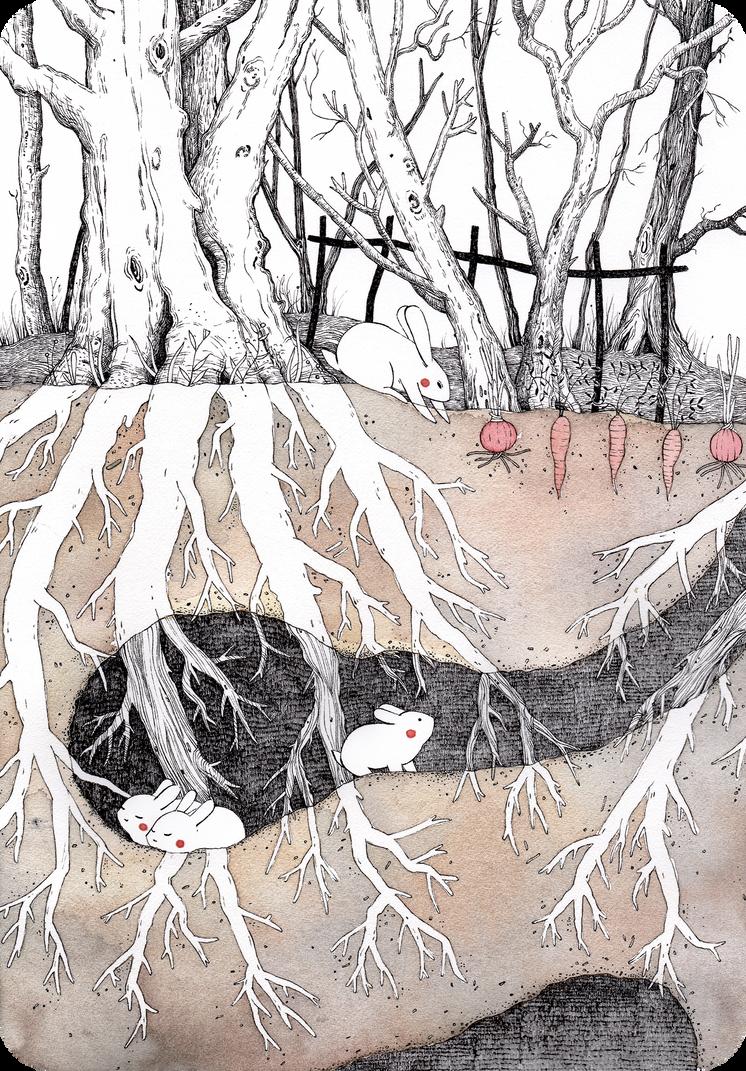 Warm burrows by Lu-Art