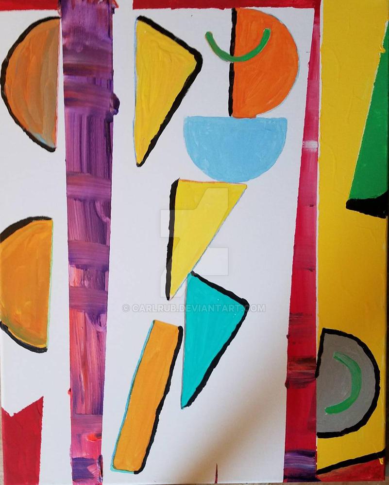 geometric shapes  by carlrub