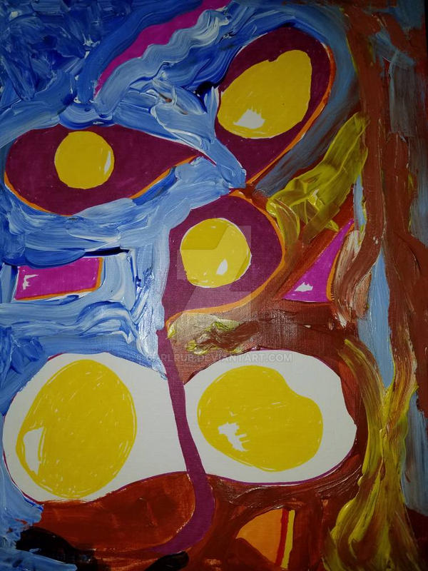 abstract eggs by carlrub