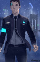 Connor - Detroit Become Human by DoubleDach