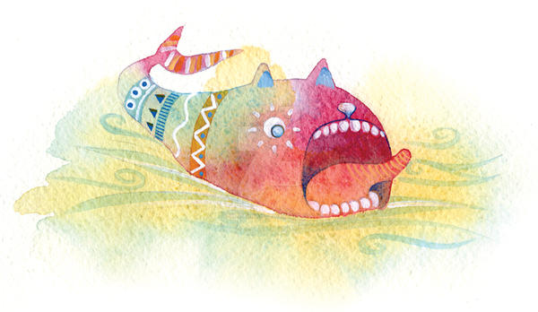 Watercolor illustration by williewinkie