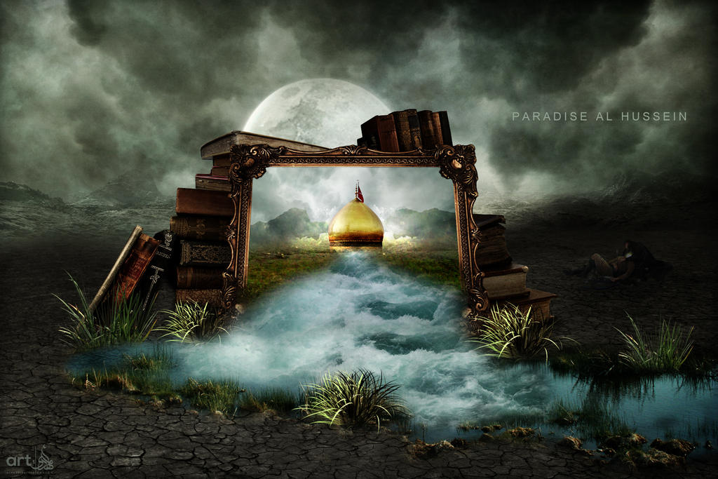 Paradise Al Hussein by almahdi