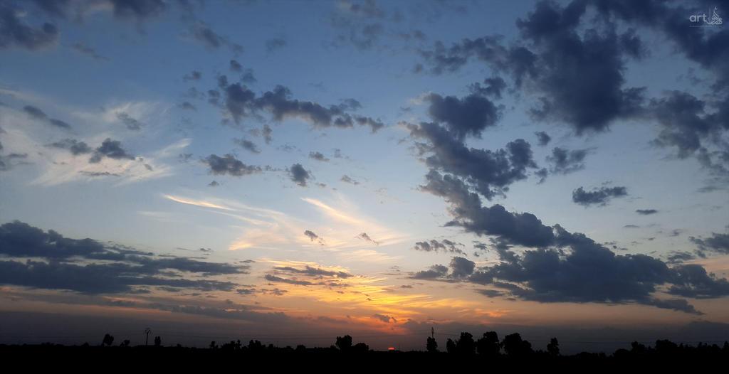 Karbalaa Sky by almahdi