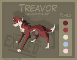 Treavor - Character Sheet by Skailla