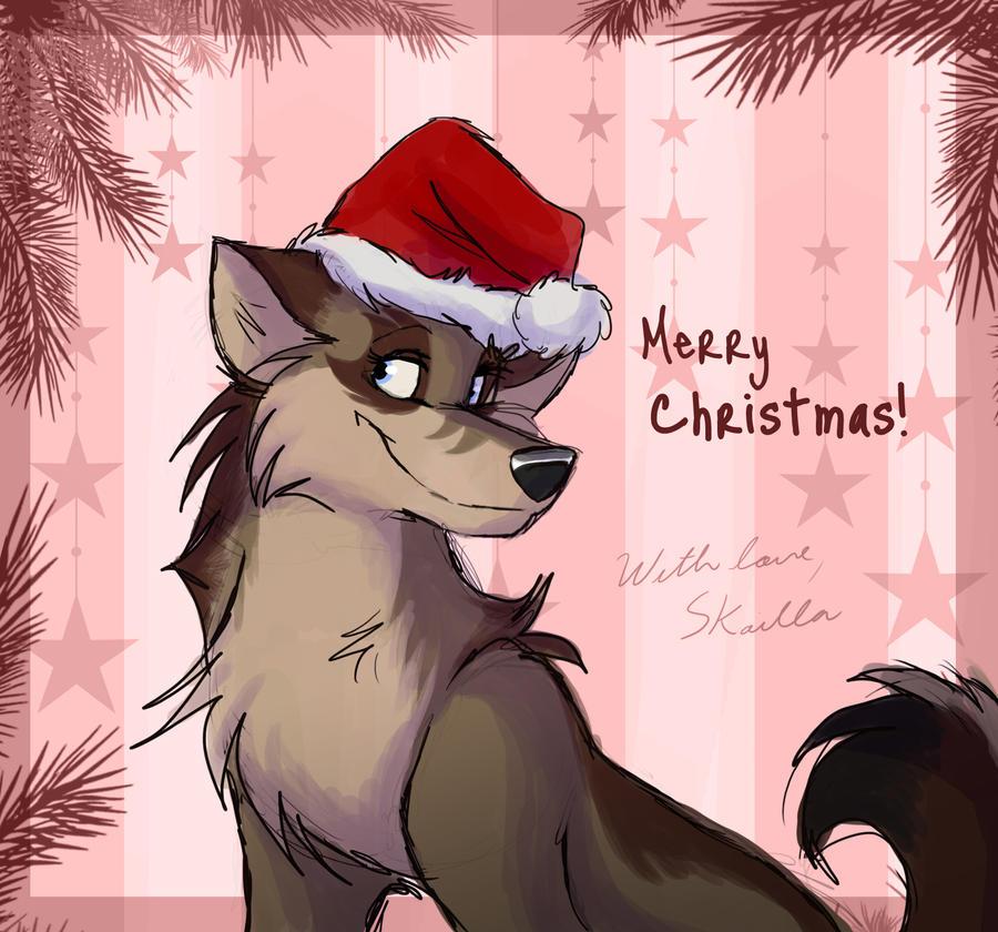 Christmas Surprise: Alpinewolf by Skailla