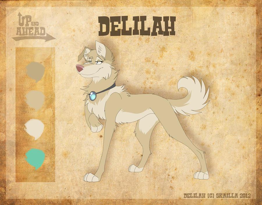 Delilah - Character Sheet by Skailla