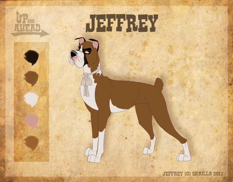 Jeffrey - Character Sheet by Skailla