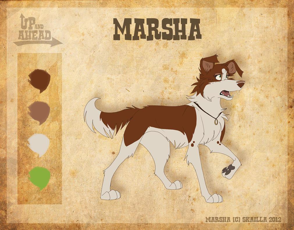 Marsha - Character Sheet by Skailla