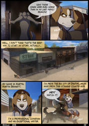 UnA Issue #1 - Page 02 by Skailla