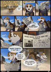 UnA Issue #1 - Page 03 by Skailla