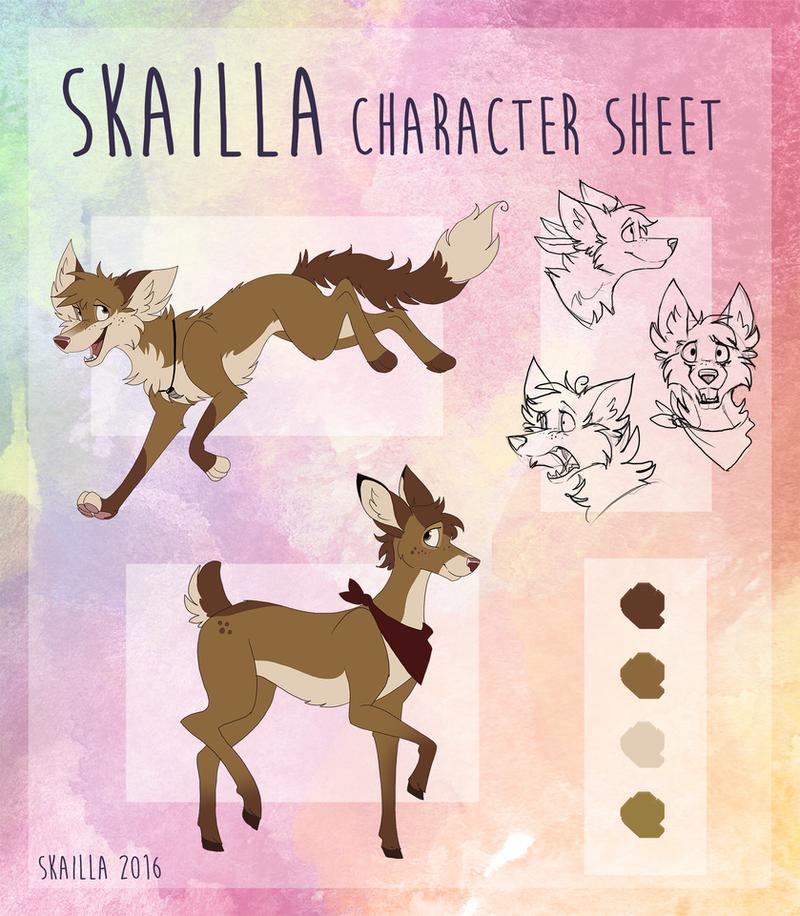 Skailla - Character Sheet by Skailla