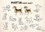 Martin - Model Sheet