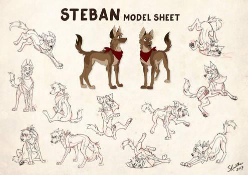 Steban - Model Sheet