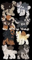 Wolfdog Auction Adoptables! - CLOSED!