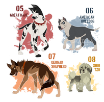 Antagonists! Adoptable Auction - OPEN by Skailla