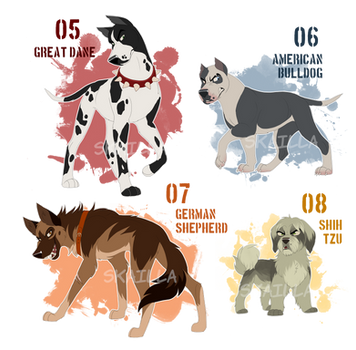 Antagonists! Adoptable Auction - OPEN