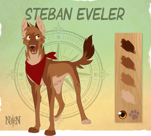 Steban Eveler - Character Sheet