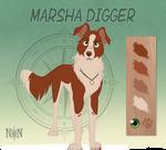 Marsha Digger - Character Sheet