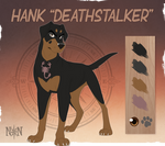 Hank Deathstalker - Character Sheet