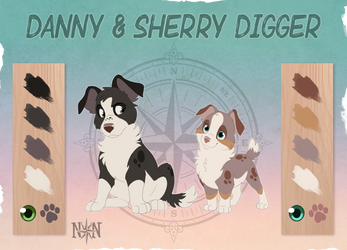 Danny and Sherry Digger - Character Sheet