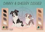 Danny and Sherry Digger - Character Sheet