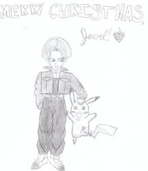 Pikachu and Trunks