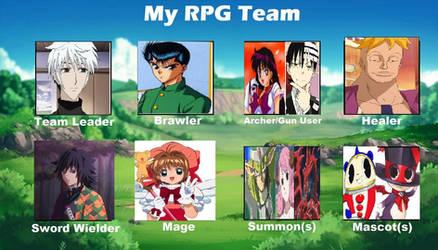 My RPG Team