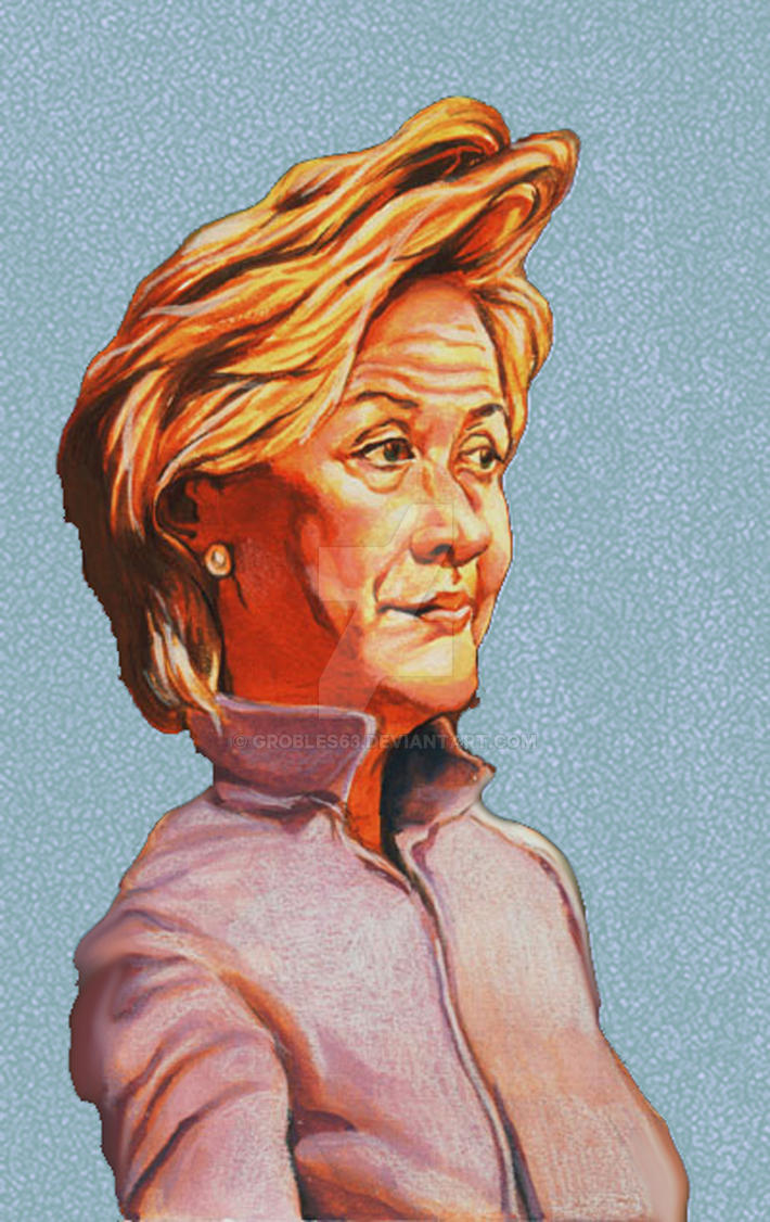 Hilary Clinton by grobles63
