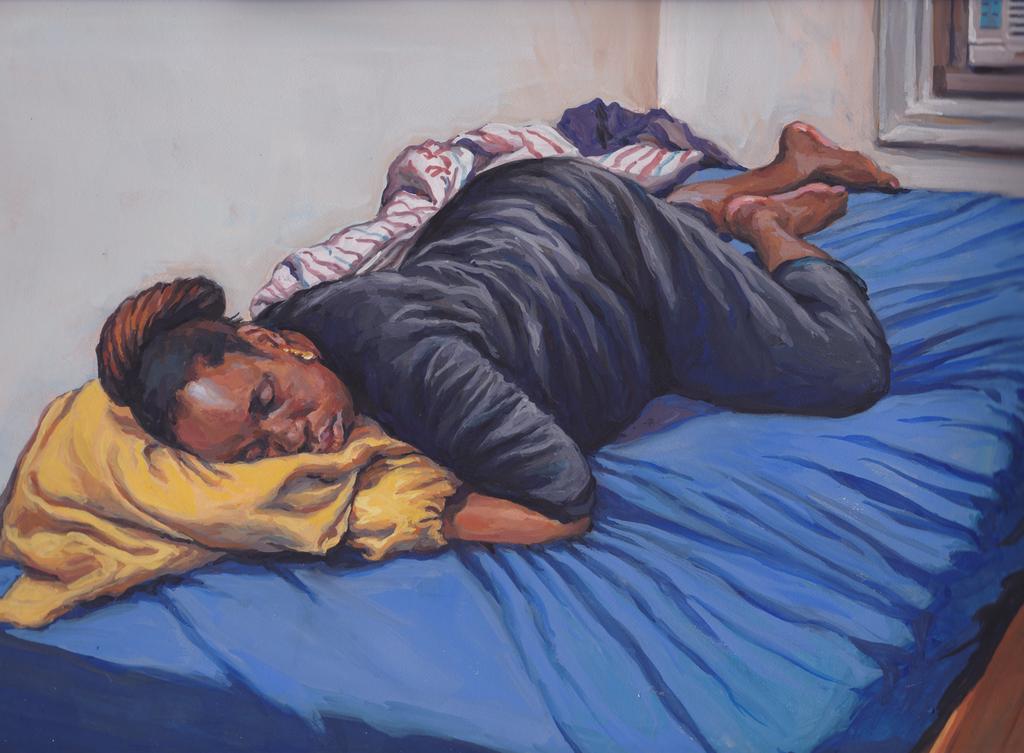 Karen Resting by grobles63