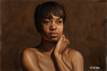 Portrait Sketch by grobles63