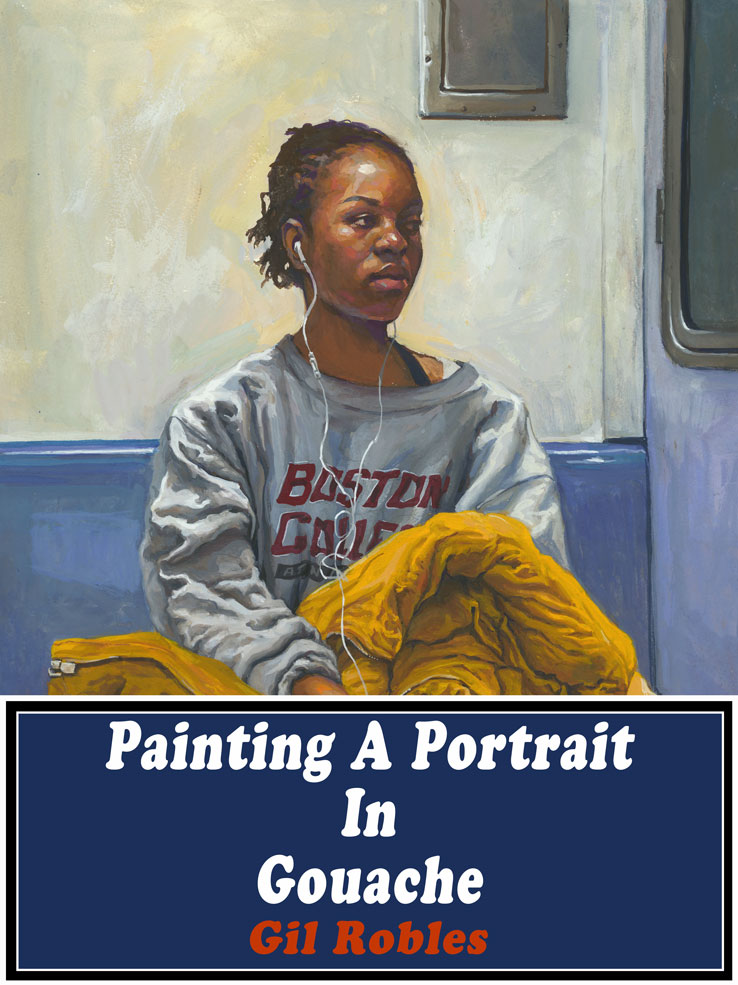 Painting A Portrait In Gouache by grobles63